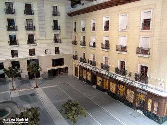 Maqueta Plaza de Pontejos