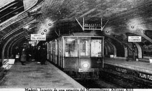 Estacion de Metro Alfonso XIII