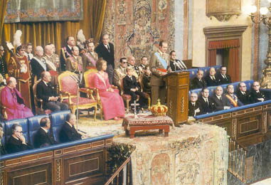 franco 1975 juramento