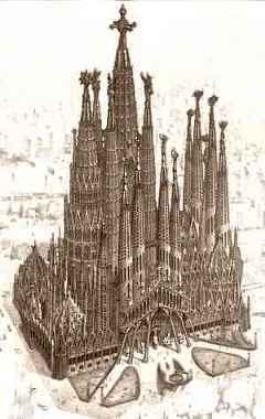 Dibujo del Templo acabado