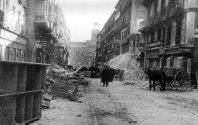 Calles de Madrid destruidas