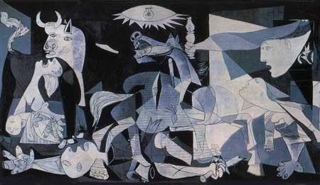 guerra civil Gernika Picasso