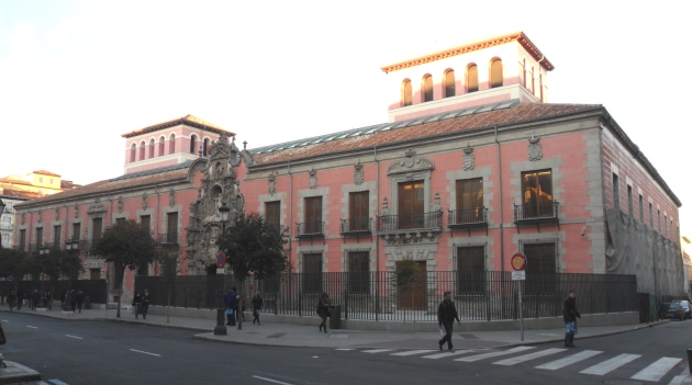 History Museum of Madrid (Spain), under renovation.