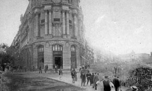 Obras de la Gran Via 1912
