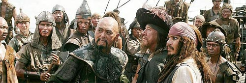 Fotograma de la película Piratas del Caribe