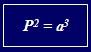 planetas formula
