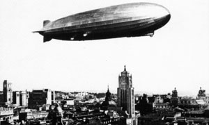 Zeppelin sobre Madrid