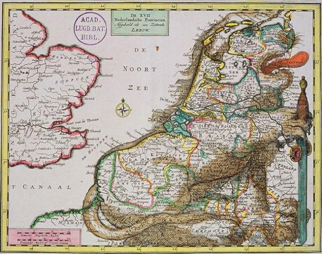 De XVII Nederlandsche Provincien ...
