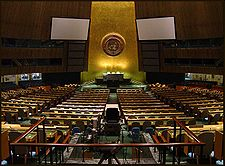 Interior de la Asamblea General.