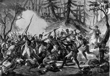 En la batalla de Monte de las Cruces las tropas dirigidas por Hidalgo pusieron en fuga a los realistas. Las puertas de la capital estaban abiertas.