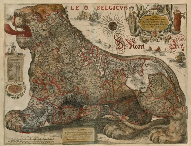 Antique_map_of_Leo_Belgicus_by_Visscher_C.J._-_Gerritsz_1630