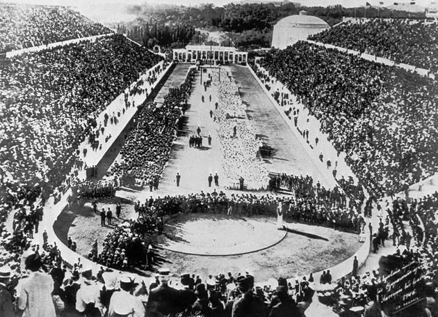 Atenas-1896-ceremonia-de-apertura