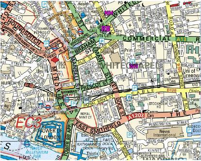 jack mapa Whitechapel