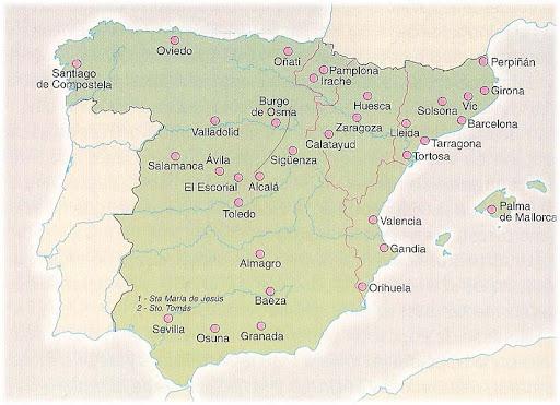 Las Universidades de España en los Siglos XVI y XVII