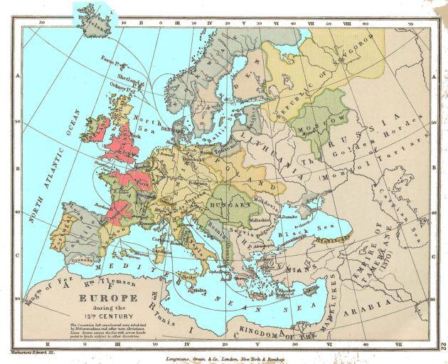 map-europe-1500