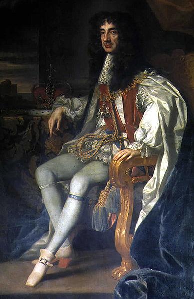 Carlos II de Inglaterra nombró caballero a Henry Morgan en 1674