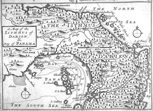 El istmo de Darién y Panamá a finales del siglo XVII
