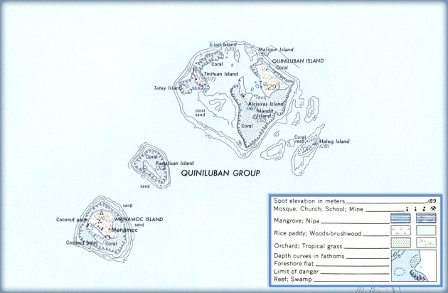 Quiniluban_Island_Group_map